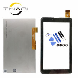 "Discount hit tools - Thani Touch screen Panel Digitizer For 7"" Irbis TZ55 3G Hit TZ49 Tablet Glass lcd display Sensor Replacement Free S"
