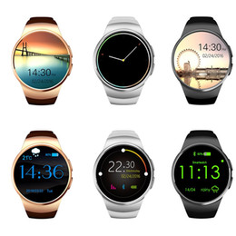 $enCountryForm.capitalKeyWord Australia - LYKRY KW18 Bluetooth Smart Watch Full Screen Support SIM TF Card Smartwatch Phone Heart Rate Monitor Pedometer For Android IOS