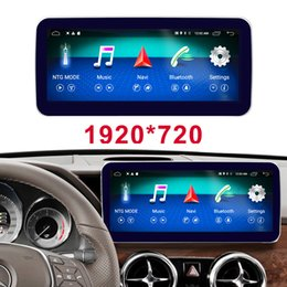 "mercedes benz car radio Canada - 10.25"" 4G Android 8 display for Mercedes Benz GLK X204 Car 2013-2015 GPS Navigation radio stereo dash multimedia player"