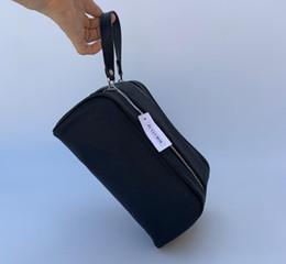 Ingrosso Le migliori uomini di qualità di vendita che viaggiano borsa donne di modo WC Wash Bag grande capacità borsa da toilette sacchetti cosmetici make-up Pouch 26CM