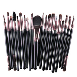 eye shadow for black women UK - MAANGE 20pcs Professional Makeup Brushes Set Powder Foundation Eyeshadow Make Up Brushes Cosmetic Tool For Women