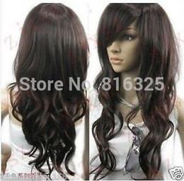 $enCountryForm.capitalKeyWord Australia - shun DM690032>>VOGUE Dark BROWN CURL WOMEN'S WIG HAIR long perruque parrucca Cosplay Ladies Fancy Wigs