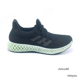 ash sneakers sizing Canada - 2019 Futurecraft 4D Running Shoes For Men Women Ash Green Triple Black White Red Mens Designer Trainer Sport Sneaker Size 38-47brand