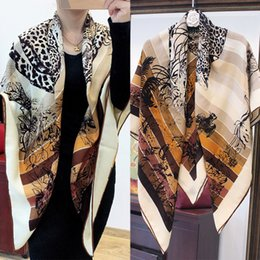 warm comfortable scarfs Australia - 19 Years New Jungle Zhi Love Leopard Printing Velvet Scarf Comfortable Keep Warm Thin Section Silk Cashmere Shawl