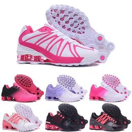 $enCountryForm.capitalKeyWord NZ - Cheap Hight Quality Shox Avenue Sports Running Shoes For Men Air Cushion Shox Deliver NZ R4 Women Runner Sneakers Man Trainers Tennis Shoes