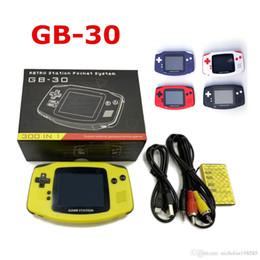 $enCountryForm.capitalKeyWord Australia - GB30 Game Station Mini Handheld Game Console Portable Nostalgic Games Player 8 Bit Play 300 Games LCD Display Game Player PXP3 PVP PAP NES