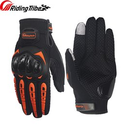 summer motorcycle riding gloves Australia - Motorcycle Gloves Summer Breathable Riding Gloves Rider Biker Racing TouchScreen Non-slip Protective Glove for Men Women MCS-17