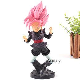 Action Figures Goku Super Saiyan Australia - Action Figure Dragon Ball Z Black Goku Figure Super Saiyan Rose Zamasu PVC Collection Model Toys