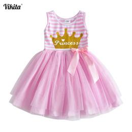 $enCountryForm.capitalKeyWord NZ - wholesale Girls Princess Dress Children Unicorn Frocks Girls Sleeveless Summer Vestidos Kids Tutu Dresses Girl Cartoon Tops