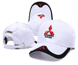 f0cff8edca3 NEW Unisex 3D Mitsubishi hat cap F1 baseball cap hat adjustable casual  trucket hat car logo moto gp moto racing sport caps
