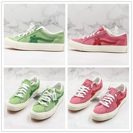 canvas one shoes NZ - Creator x One Star Ox Golf Le Fleur TTC Jolly Hip Hop Sneaker Trainer Canvas Shoes For Women Men Skate Shoes With Box