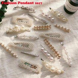 M Mism Korean Style Tree Hairpins Pearl Hair Clip For Women Girls Ornament Rhinestone Barrettes Hair Accesorios Para El Cabello Women's Hair Accessories