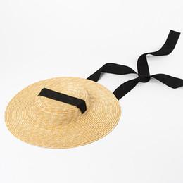 7de605756ed5e 01811-HH7208 summer natural handmade paper Designer style leisure beach  LONG ribbon lady fedoras STRAW cap women PAPER hat