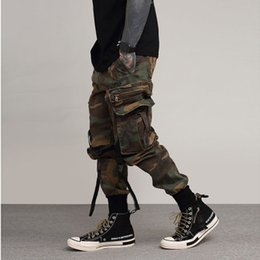 $enCountryForm.capitalKeyWord Australia - Fashion-Mens Fashion Cargo Pants Multi-pocket Seasons Jogging Pants Casual Camouflage Breathable Hip Hop Male Street Pants
