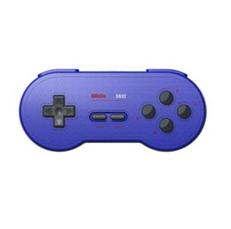 Wireless Switch Controllers Australia - 8BitDo SN30 Wireless Bluetooth Game Controller Rainbow Color Support Nintendo Switch Android MacOS Gamepad Game Console Joystick