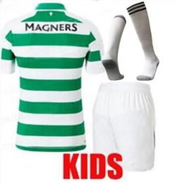 063672ef11a 2019 2020 Celtic soccer kids kit Jerseys Europa League cup TIERNEY SINCLAIR  BROWN GRIFFITHS 19 20 HOME FORREST ROGIC football SHIRT kids kit