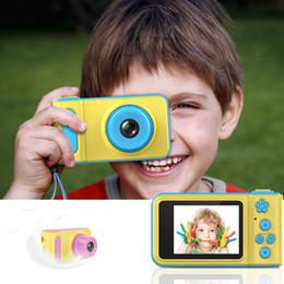 $enCountryForm.capitalKeyWord Australia - Children Digital Camera 2 Inch Screen Display Cartoon Cute Camera Birthday Gift 1080P Toddler Toys Video Camera best gift