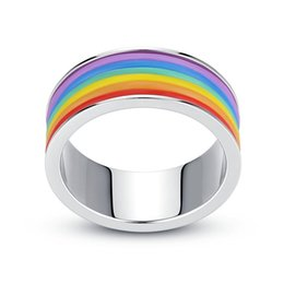 Ss Rings Australia - Nice Rainbow Finger Silicone Tire Shape SS Skin Hoop Silicon Rubber Band Ring For Mech Protection Vape Mod Vape Vaporizer RDA Tanks Decorate