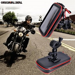 $enCountryForm.capitalKeyWord Australia - 2018 Upgrade Universal Waterproof Bag Motorcycle Bicycle Holder Mobile Phone Support Bike Handelbar Stand Mount Gps 2 Card Slots T190625
