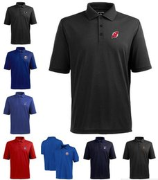 styling t shirt jersey NZ - 2020 New Style Ottawa York Jersey Men Devils Islanders Rangers Senators Flyers Early Season TeamIssue Performance Logo Polo T-shirt