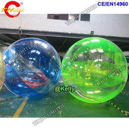Inflatable Pool Water Walking Balls Australia - human roll inside inflatable ball durable walk in plastic bubble ball swimming pool inflatable water walking ball water toys for kids adults