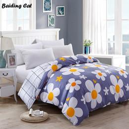 $enCountryForm.capitalKeyWord Australia - 2019 New Pastoral Flower Print Bedding Set 1pc Close Skin Cotton Duvet Cover 150*200cm 180*220cm 200*230cm 220*240cm Quilt Cover