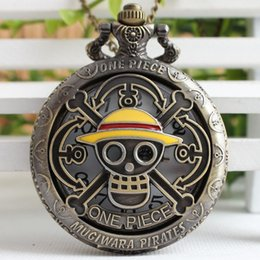 $enCountryForm.capitalKeyWord Australia - Hot Selling Men's Japan Cartoon Anime Steampunk Quartz Pocket Watch Fashion Men Women Necklace FOB Chain TD2008