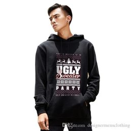 christmas pullover men Canada - Christmas Printed Mens Hoodies Winter Fleece Long Sleeve Hooded Mens Sweatshirts Fashion Solid Color Designer Couples Pullover Hoodie
