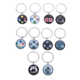 cats controller Australia - Video Game Controller Photo Keychain jewelry Glass Cabochon Dome keychain