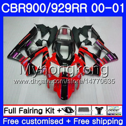 $enCountryForm.capitalKeyWord Australia - Body For HONDA glossy red black CBR900 RR CBR 929 RR CBR 900RR CBR929RR 00 01 279HM.7 CBR 929RR CBR900RR CBR929 RR 2000 2001 Fairings kit