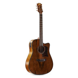 $enCountryForm.capitalKeyWord UK - Free shipping! wholesale high quality 40inch cutway acoustic electric guitar A-shaped with Dao wood top