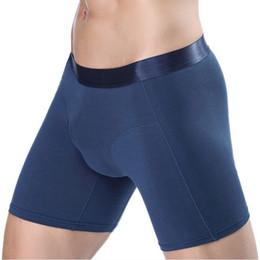 Purple Male Underwear Australia - underwear men Boxer shorts mens kilot Solid Modal Cotton Long Leg Flexible Spring Winter Sexy male men's underpants cueca homme