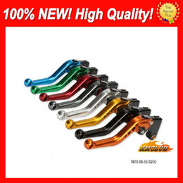 cnc lever honda NZ - 10colors Brake Clutch Levers For HONDA CBR954RR 02 03 CBR900RR CBR 954 RR 900RR CBR954 RR 2002 2003 CL495 100%NEW CNC Disc Handle Levers