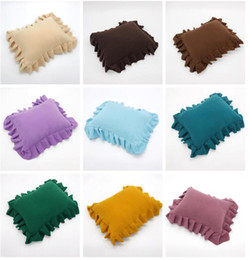 Shooting Props Australia - Newborn Baby Posting Pillow 12 Colors Soft Positioner Pillow Photography Props Infant Studio Photo Shoot Props Accessories Free Shipping