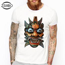 10125424 Zsiibo Tx117 2016 Skull Animal Owl Printing Design Fashion Short Music Dj  Cat Printed Funny T-shirt Men Tops
