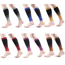 football calf sleeves Australia - DHL shippping Calf Compression Sleeve Elastic Knitted Leg Compression Socks for Men Women Running Workout Leggings Support Sleeves L306FA