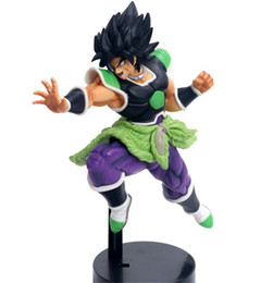 Ultimate Ball Australia - 22cm Anime Dragon Ball SUPER ULTIMATE SOLDIERS-THE MOVIE Broly PVC Action Figure Collection Model Toys Children Gift