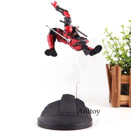 X Men Figures Australia - Creator X Creator X MEN Deadpool Dead Pool Figure Action Marvel PVC Collection Model Toys