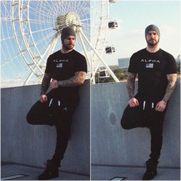 design sports t shirts Australia - Men's Designer T-shirts High Quality 2020 Summer Stretchy Crew Neck Four Sizes M-XL 18 Designs Tight Modal Print Casual Sports