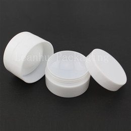 $enCountryForm.capitalKeyWord Australia - 5G X 100 Empty Cosmetic Cream Jar ,Round Sample containers ,Small Plastic Pot Bottles,Cosmetic Packaging Plastic Balm Jar Can
