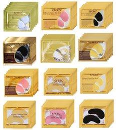 $enCountryForm.capitalKeyWord Australia - New Crystal Collagen Gold Powder Eye Mask Sleep Mask Sleeping Eye Patch Free Shipping