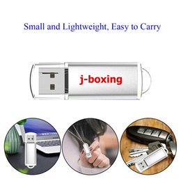 China J-boxing Silver Rectangle 32GB USB 2.0 Flash Drives Enough Memory Sticks 32gb Flash Pen Drive for PC Laptop Macbook Tablet Thumb Storage suppliers