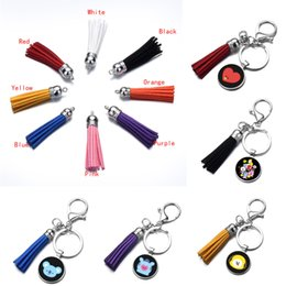 Cute Cartoon Pvc Pig Keychain Auto Key Ring Leather Rope Metal Bell Vinyl Swine Toy Keychain Led Bulb Key Holder Pendant Gift Discounts Sale Jewelry & Accessories