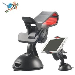 universal tablet pc holder NZ - 360 Degree Rotating Car Phone Windshield Sucker Mount Bracket Holder Stand Universal for Phone GPS Tablet PC Accessories retail box package