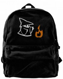 $enCountryForm.capitalKeyWord UK - Black Mage with Fire - Final Fantasy Fashion Canvas designer backpack For Men & Women Teens College Travel Daypack Leisure bag Black