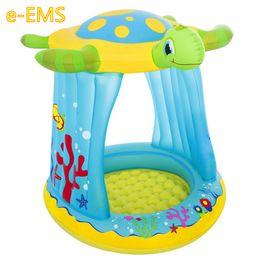 $enCountryForm.capitalKeyWord UK - New Style Tortoise Sun-shade Infant Swimming Pool Plunge Bath Inflatable Thicken Indoor Sea Ball Pool G2409