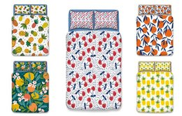 $enCountryForm.capitalKeyWord Australia - Fresh Summer fruit Duvet Cover Set 3PC Of Quilt Cover & Pillowcase Twin Full Queen King 7 Designs Fashion Bedding Sets