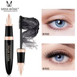 $enCountryForm.capitalKeyWord NZ - Miss Rose Fountain Pen Shape 4D Silk Fiber Lash Mascara Waterproof Rimel 3d Mascara For Eyelash Extension Black Thick Lengthening