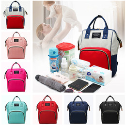 Discount hot diaper girls - Diaper Bags Mommy Backpack Nappies Shoulder Bag Mother Maternity Backpacks Nursing Travel Storage Bags Multifunction Wat