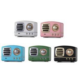 $enCountryForm.capitalKeyWord Australia - Retro Mini Portable Bluetooth Speaker Subwoofer Heavy Bass Multimedia Radio U disk TF FM Handsfree Speaker With Retail Package